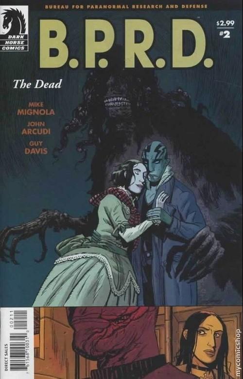 Couverture de B.P.R.D. (2003) -14- The dead