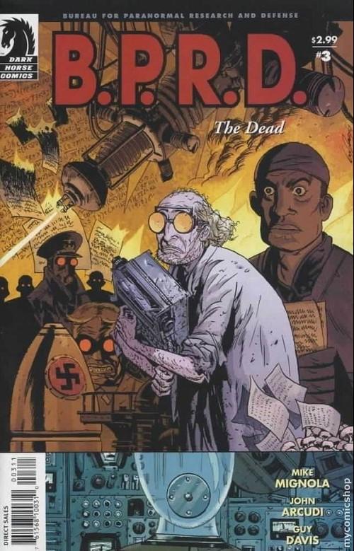 Couverture de B.P.R.D. (2003) -15- The dead