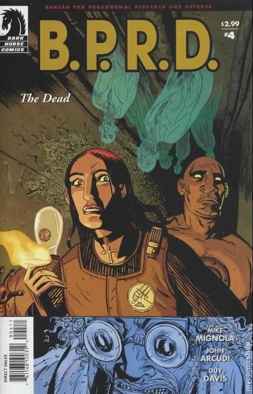 Couverture de B.P.R.D. (2003) -16- The dead