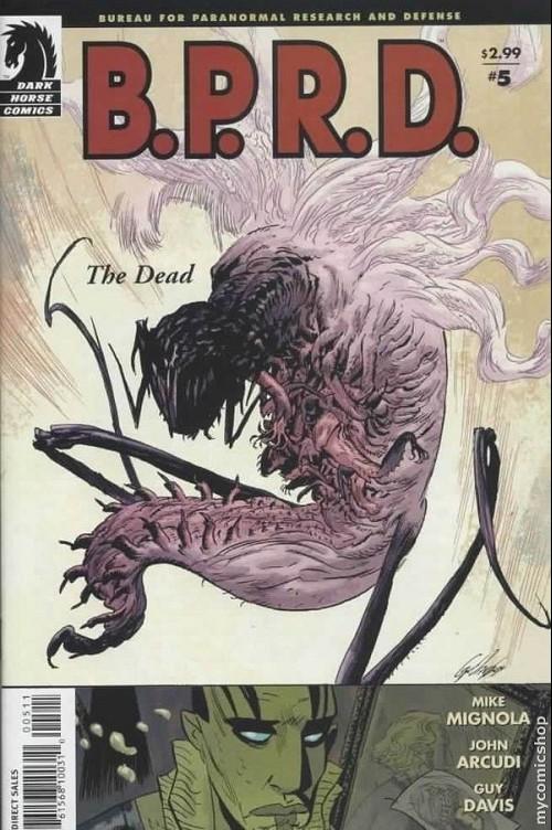 Couverture de B.P.R.D. (2003) -17- The dead