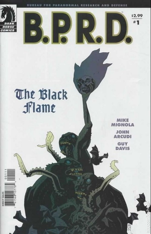 Couverture de B.P.R.D. (2003) -18- The black flame