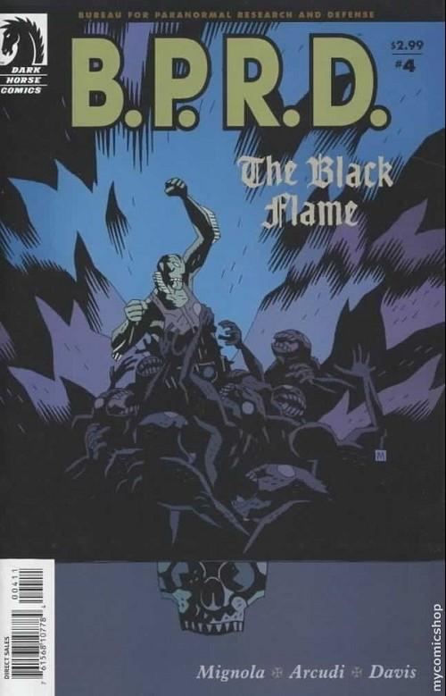 Couverture de B.P.R.D. (2003) -21- The black flame