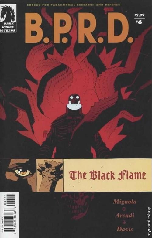 Couverture de B.P.R.D. (2003) -23- The black flame