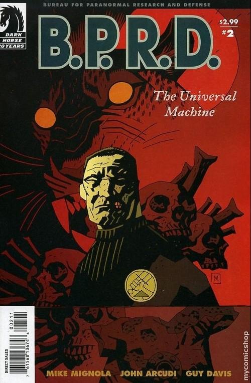Couverture de B.P.R.D. (2003) -25- The universal machine