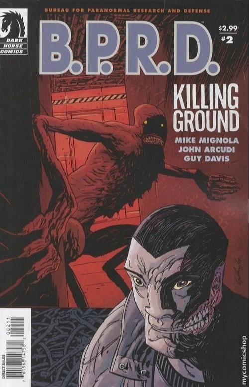 Couverture de B.P.R.D. (2003) -35- Killing ground