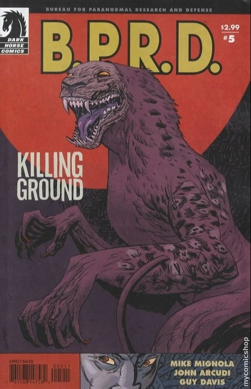 Couverture de B.P.R.D. (2003) -38- Killing ground