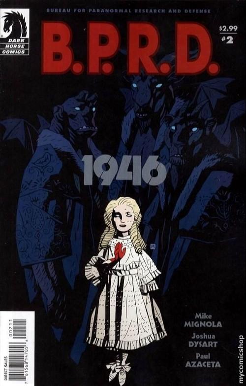Couverture de B.P.R.D. (2003) -40- 1946