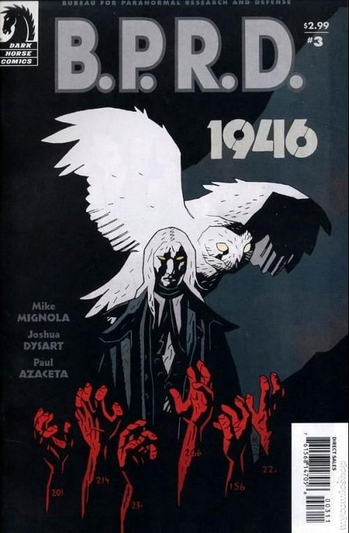 Couverture de B.P.R.D. (2003) -41- 1946