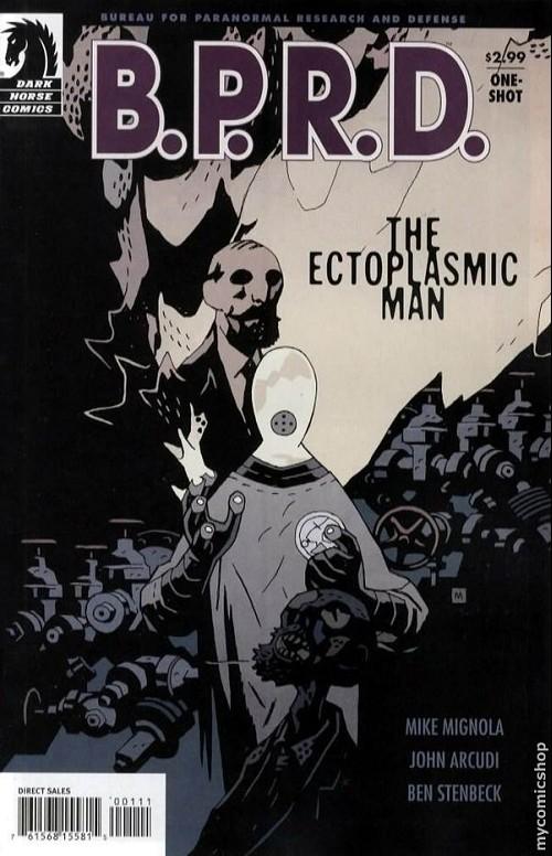 Couverture de B.P.R.D. (2003) -45- The ectoplasmic man