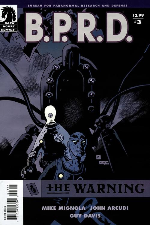 Couverture de B.P.R.D. (2003) -48- The warning 3
