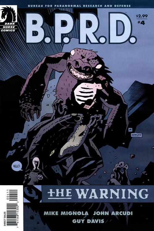 Couverture de B.P.R.D. (2003) -49- The warning 4
