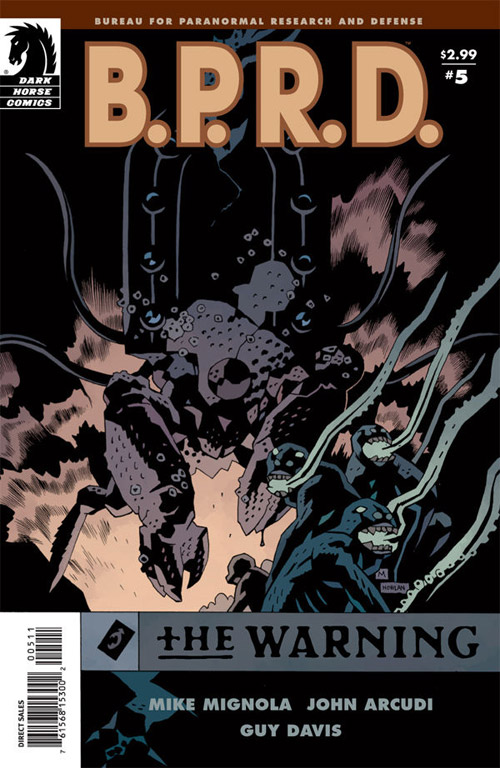 Couverture de B.P.R.D. (2003) -50- The warning 5