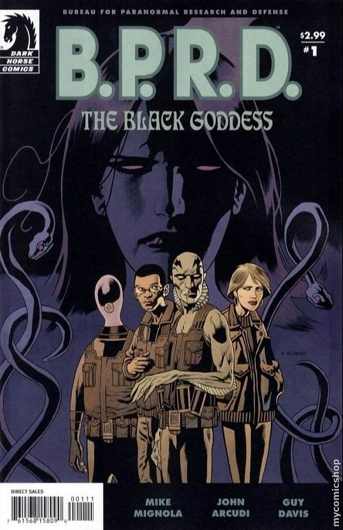 Couverture de B.P.R.D. (2003) -52- The Black Goddess 1