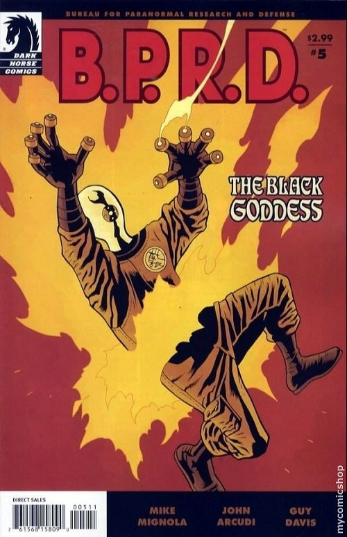 Couverture de B.P.R.D. (2003) -56- The Black Goddess 5