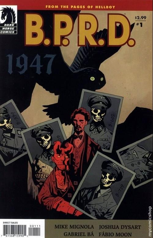 Couverture de B.P.R.D. (2003) -58- 1947 1