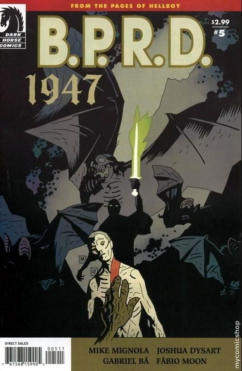 Couverture de B.P.R.D. (2003) -62- 1947 5