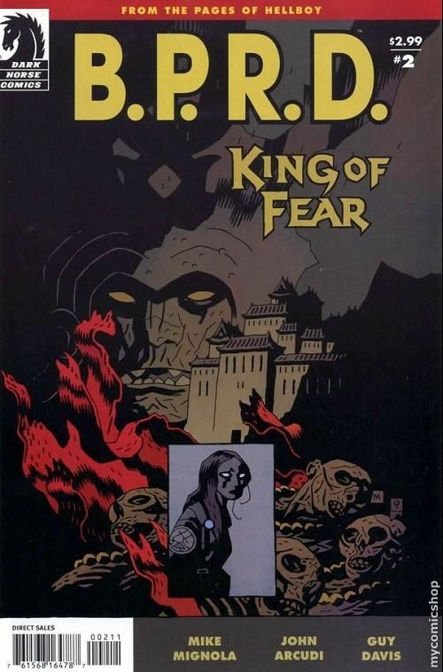 Couverture de B.P.R.D. (2003) -65- King of Fear 2