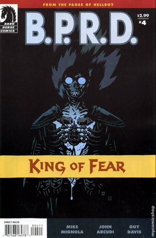 Couverture de B.P.R.D. (2003) -67- King of Fear 4