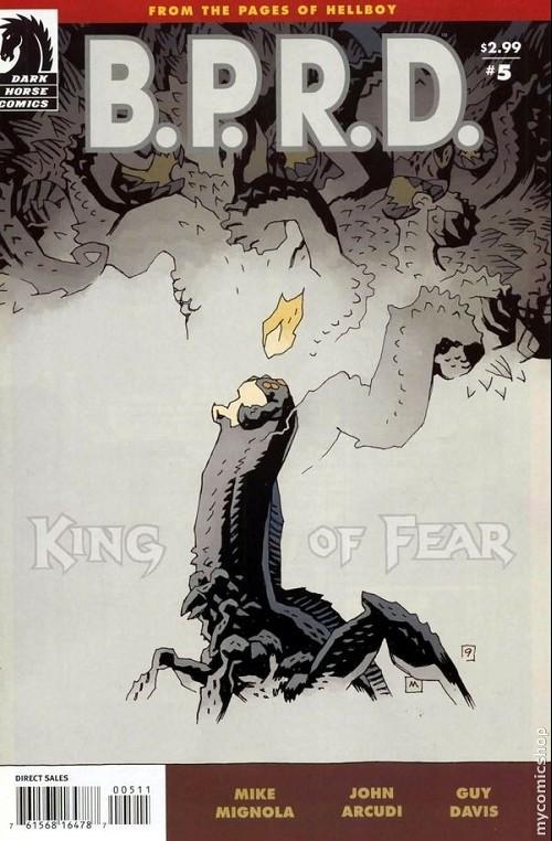 Couverture de B.P.R.D. (2003) -68- King of Fear 5