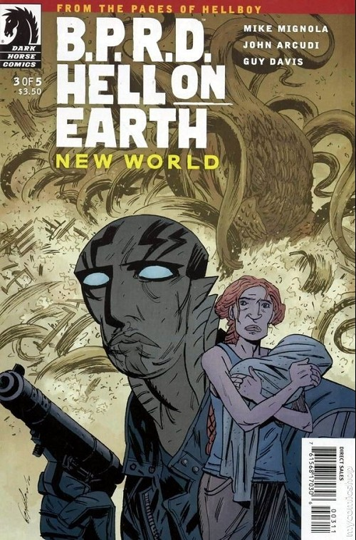 Couverture de B.P.R.D. (2003) -71- Hell on Earth - New World 3