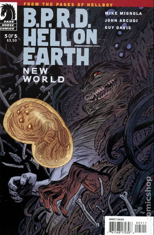 Couverture de B.P.R.D. (2003) -73- Hell on Earth - New World 5