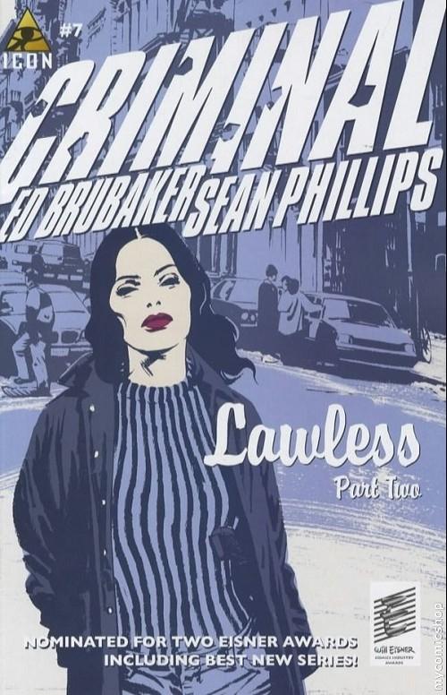 Couverture de Criminal (2006) -7- Lawless #2/5