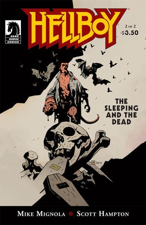 Couverture de Hellboy (1994) -52- The Sleeping and the Dead #2