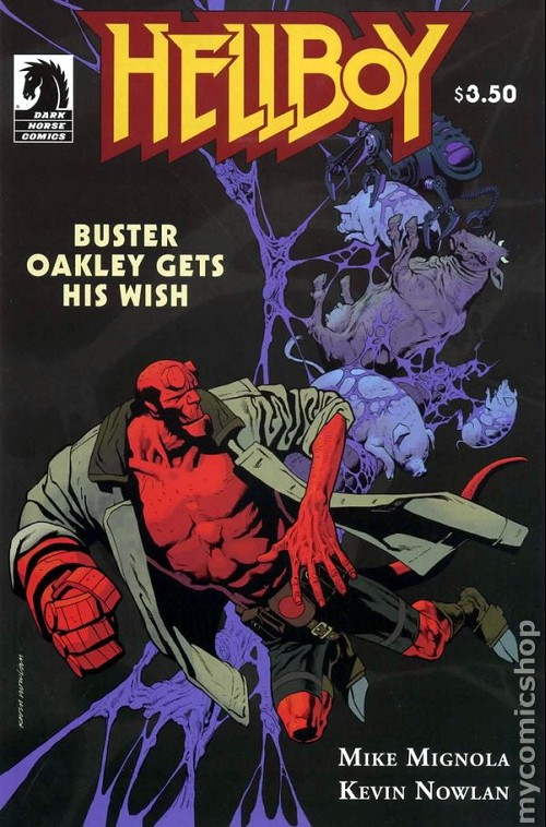 Couverture de Hellboy (1994) -53- Buster Oakley gets his wish