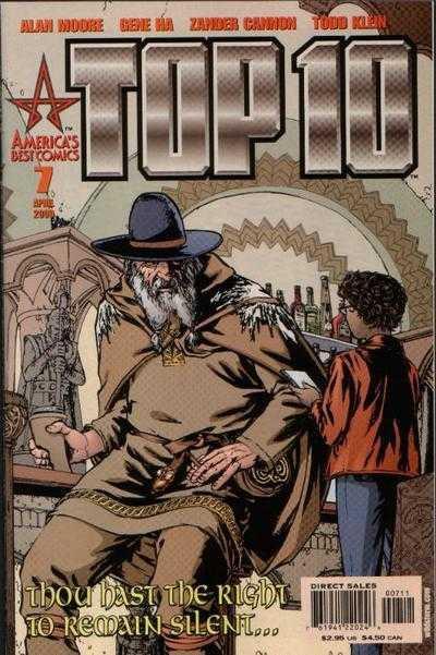 Couverture de Top 10 (1999) -7- Mythdemeanors