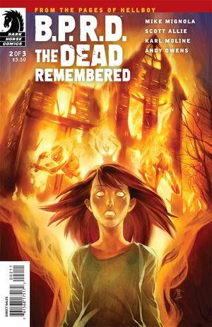 Couverture de B.P.R.D. (2003) -78- The Dead Remembered 2