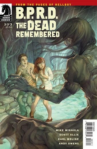 Couverture de B.P.R.D. (2003) -79- The Dead Remembered 3
