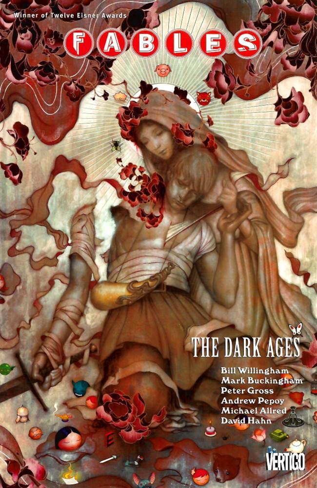 Couverture de Fables (2002) -INT12- The Dark Ages