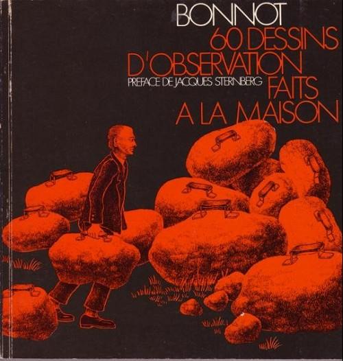Couverture de (AUT) Bonnot - 60 dessins d'observation faits à la maison