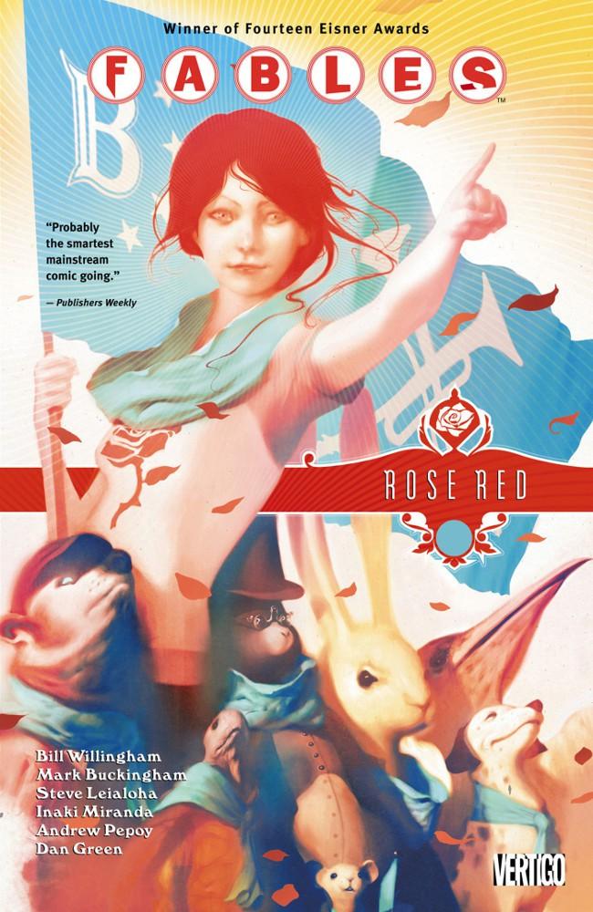 Couverture de Fables (2002) -INT15- Rose Red