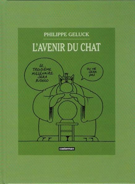 Couverture de Le chat -09-10- L'Avenir du Chat / Le Chat est content