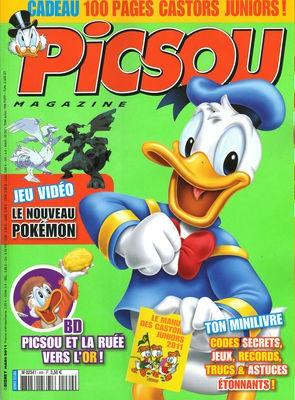Couverture de Picsou Magazine -469- Picsou magazine n°469