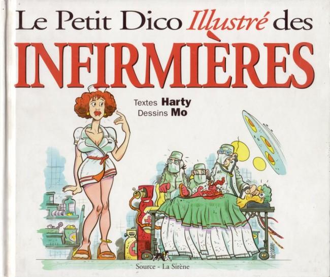 Couverture de Illustré (Le Petit) (La Sirène / Soleil Productions / Elcy) - Le Petit Dico illustré des infirmières