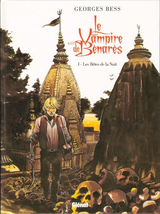 Couverture de Le vampire de Benarès -1- Les Bêtes de la Nuit