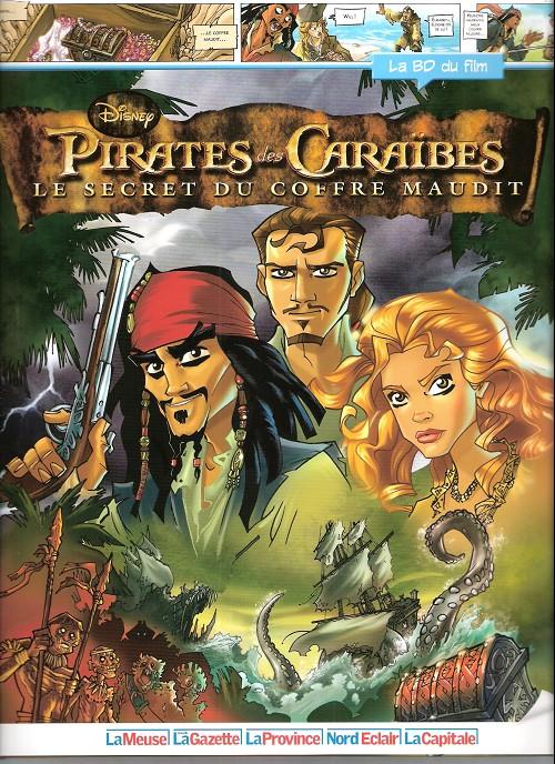 disney la bd du film  3  pirates des cara bes