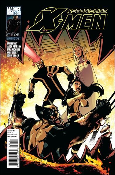 Couverture de Astonishing X-Men (2004) -37- Monstrous part 2