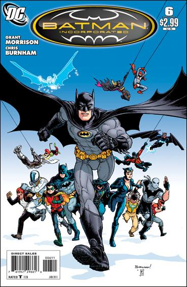 Couverture de Batman Incorporated (2011) -6- Nyktomorph