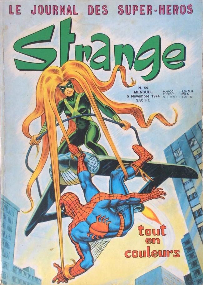 Couverture de Strange -59- Strange 59