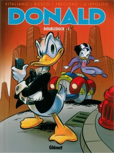Couverture de Donald (Histoires longues) -2- Doubleduck - I