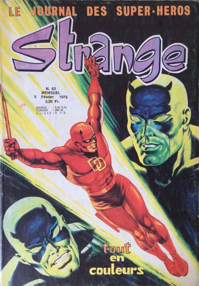 Couverture de Strange -62- Strange 62