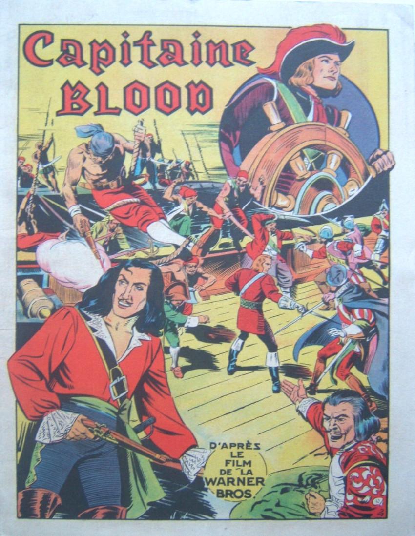 Couverture de Capitaine Blood
