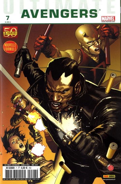 Couverture de Ultimate Avengers -7- Blade contre les Vengeurs (1)