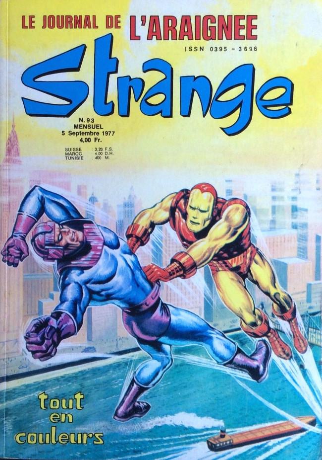 Couverture de Strange -93- Strange 93