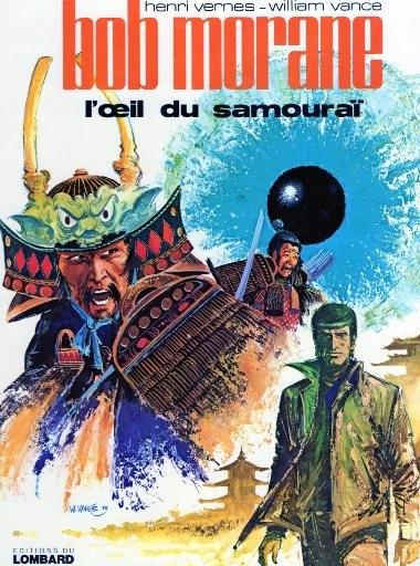 Couverture de Bob Morane 3 (Lombard) -17- L'œil du samouraï