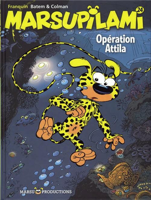 Couverture de Marsupilami -24- Opération Attila