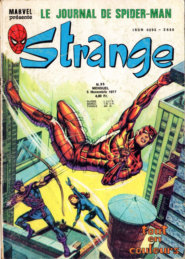 Couverture de Strange -95- Strange 95